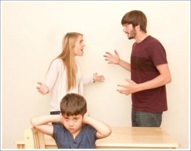 親子、喧嘩、夫婦