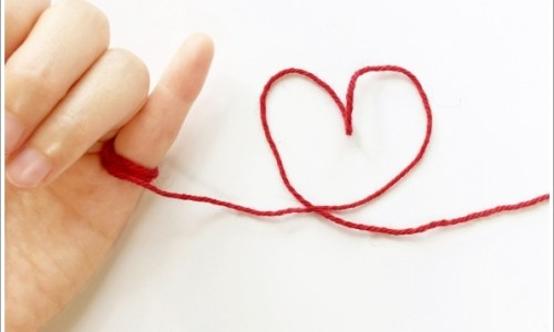 ハート、恋愛、手