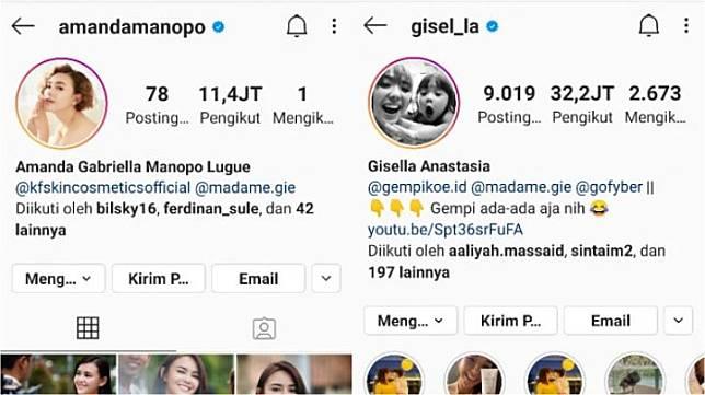 Gisel Akhirnya Jawab Soal Posisinya Sebagai Brand Ambassador Madame Gie Digantikan Amanda Manopo