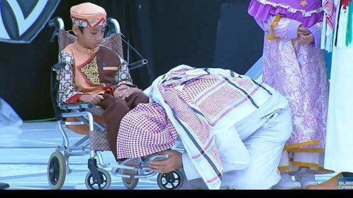 Muhammad Naja Hudia Afifurrohman Bocah yang Kakinya Pernah Dicium Syekh Ali Jaber