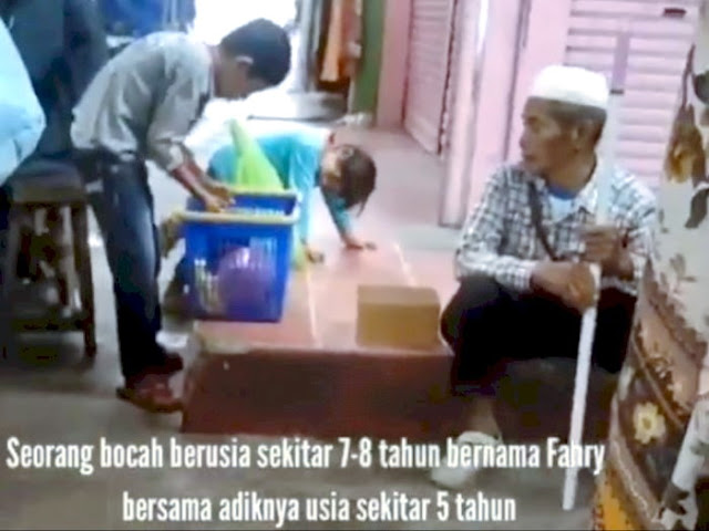 Bocah 7 Tahun ini Memberi Gorengan Kepada Kakek-kakek Tanpa Mau Dibayar, Ternyata Fahri Tidak Sekolah Karena Kekurangan Biaya