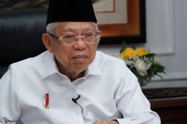 Isu Pemerintah Anti Kritik Mencuat, Wapres Ma'ruf Amin Tiba-Tiba Minta Bantuan Kapolri, Mau Ngapain?