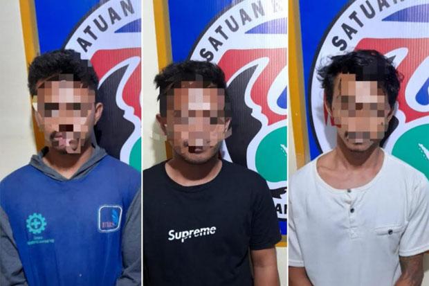Satresnarkoba Polres Sinjai Tangkap 3 Pengedar Sabu