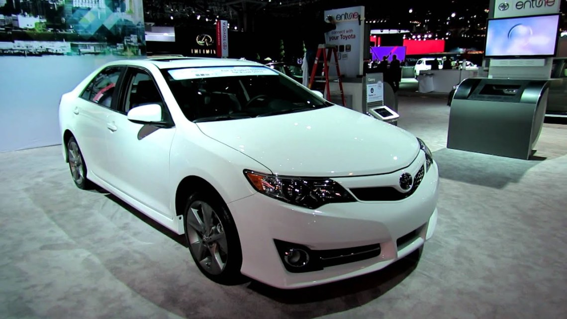2012 Toyota Camry SE Exterior and Interior at 2012 New York International Auto Show - YouTube