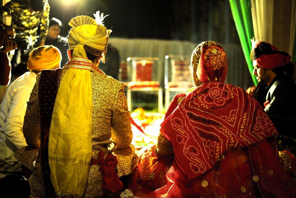 Ilustrasi pernikahan India. (Pexels/Viresh Studio Photo)