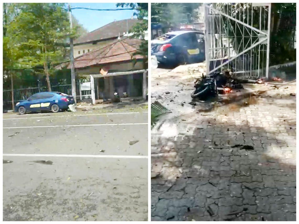 Breaking News: Ledakan Bom Terjadi di Depan Gereja Katedral Makassar   Mediasulsel.com