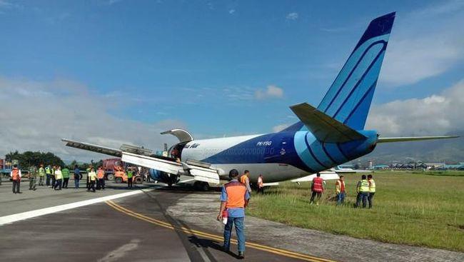 Pesawat Trigana Air Tergelincir di Halim, Tak Ada Korban Jiwa