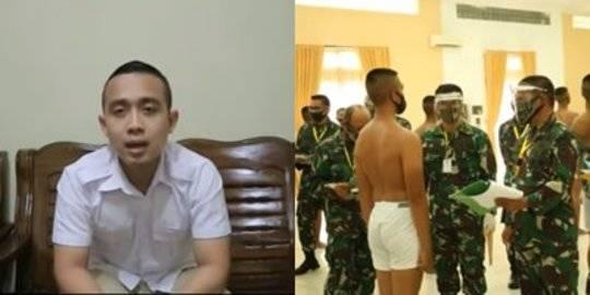 Kisah Pria Gagal Masuk TNI Divonis Jantung Bocor, Dicek ke RS Hasilnya Sehat. Youtube/©2021 Merdeka.com