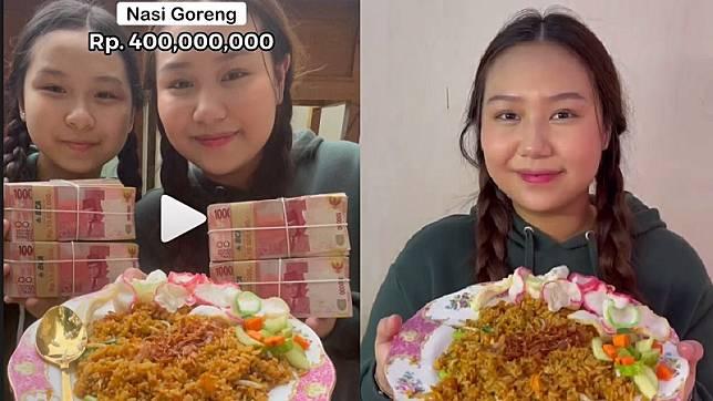 Heboh Nasi Goreng Rp400 Juta Sisca Kohl, Netizen: Kemiskinanku Bergejolak Hebat!
