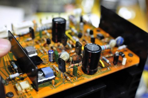 DSC6009 Sansui AU-717 Integrated Amplifier Repair & Restoration
