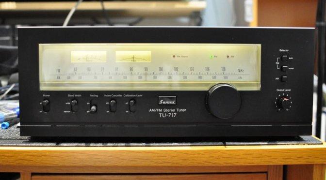 Sansui TU-717 AM/FM Stereo Tuner Service & Alignment