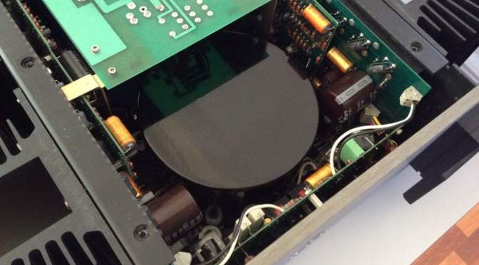 Krell KSA-150 Class-A Amplifier Service