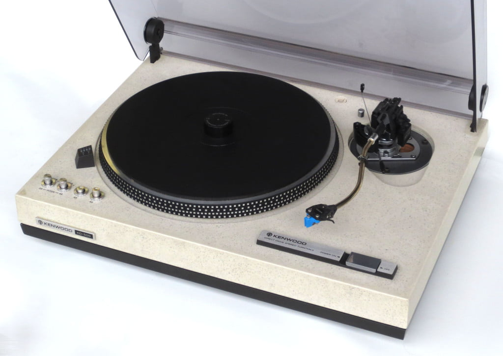 Kenwood KD-500/KD-550 Direct-Drive Turntable Review