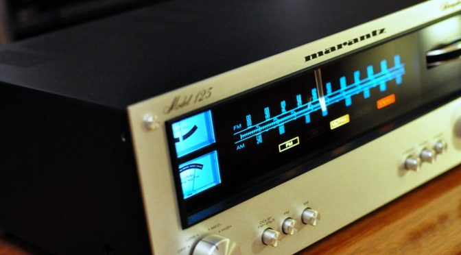 Marantz 125 AM/FM Stereo Tuner Alignment & Upgrades