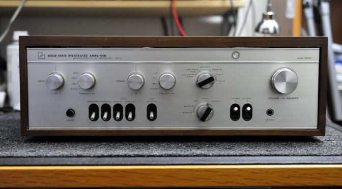 Vintage Luxman SQ-505 Integrated Amplifier for Sale