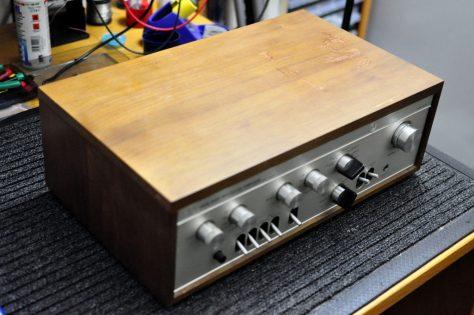 DSC6430-1024x680 Vintage Luxman SQ-505 Integrated Amplifier for Sale