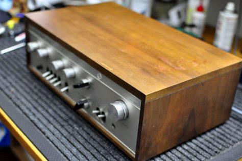DSC6431-1024x680 Vintage Luxman SQ-505 Integrated Amplifier for Sale