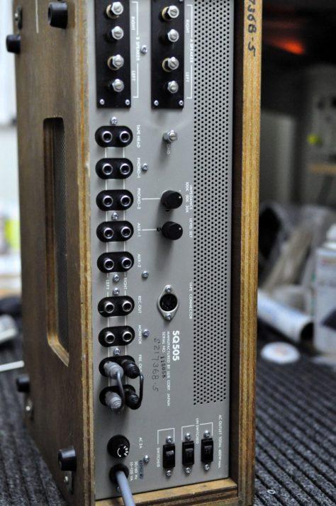 DSC6433-680x1024 Vintage Luxman SQ-505 Integrated Amplifier for Sale