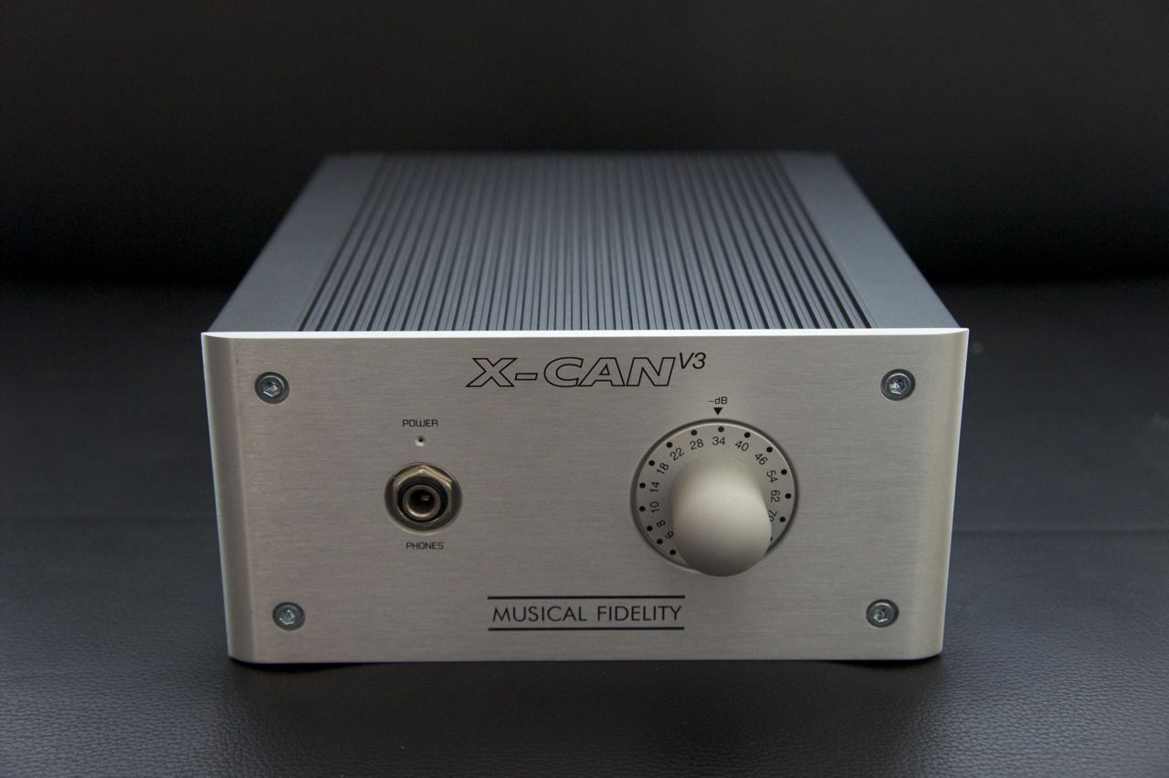 Musical Fidelity X-Can V3 Headphone Amplifier Modifications