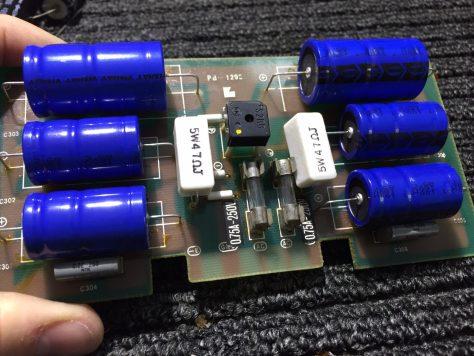 IMG_1091-0 Luxman M-4000A Amplifier Repair & Restoration