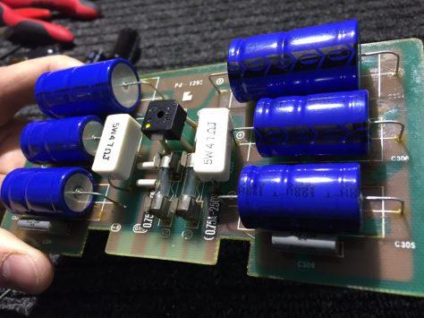 IMG_1093 Luxman M-4000A Amplifier Repair & Restoration