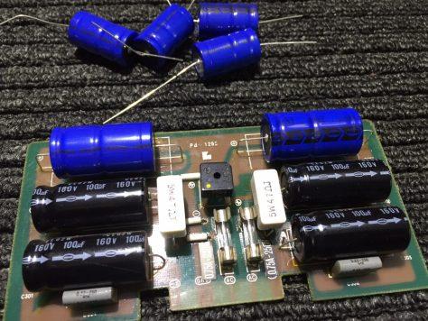 IMG_1094 Luxman M-4000A Amplifier Repair & Restoration