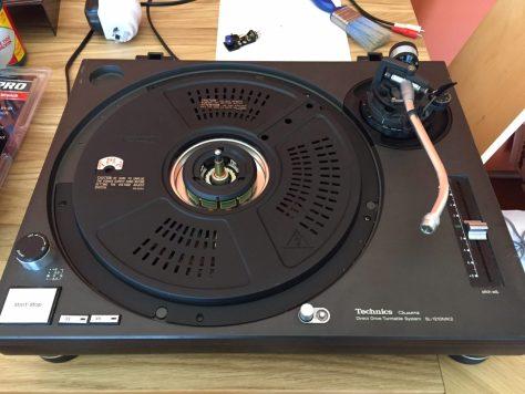 IMG_1095 Servicing the Legendary Technics SL-1200 Direct-Drive Turntable