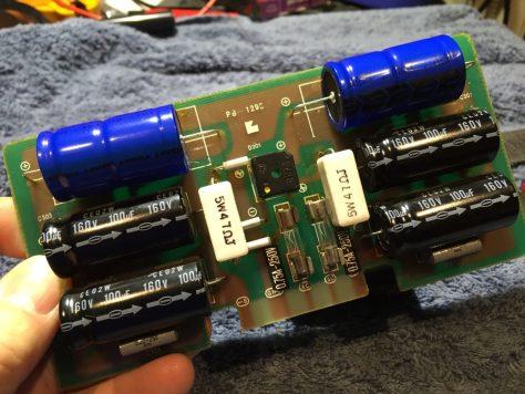 IMG_2443 Luxman M-4000A Amplifier Repair & Restoration