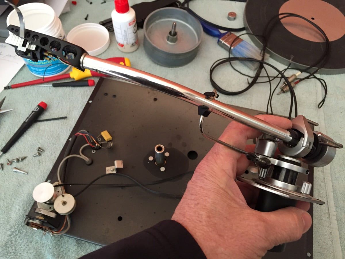 ERA Mk 6 Belt-Drive Turntable Repair and Restoration - Liquid Audio