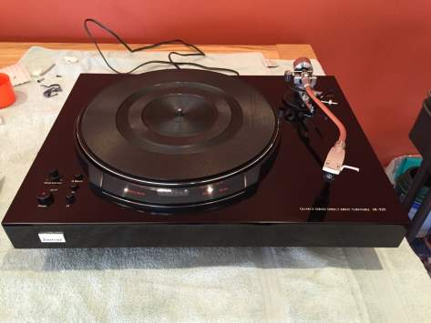 IMG_2954 Sansui SR-929 NOS Turntable Unboxing and Set-Up!