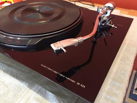 IMG_2955 NOS Sansui SR-929 DD Turntable Unboxing & Recommissioning!