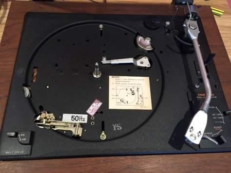 IMG_2753 Pioneer PL-A35 Belt-Drive Turntable Repair