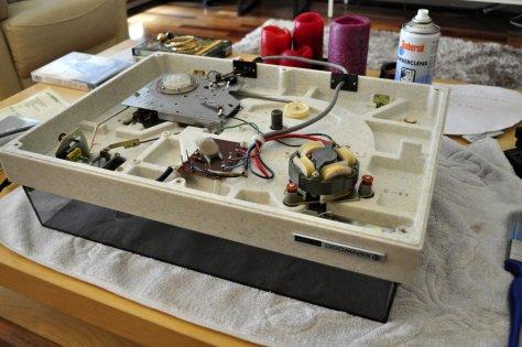 001 Kenwood KD-2055 Belt-Drive Turntable Repair