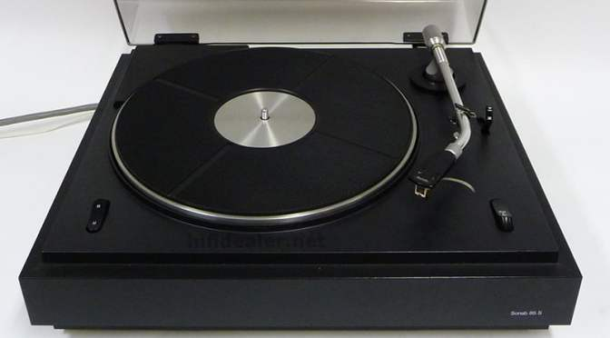 Sonab 85S Belt-Drive Turntable Service