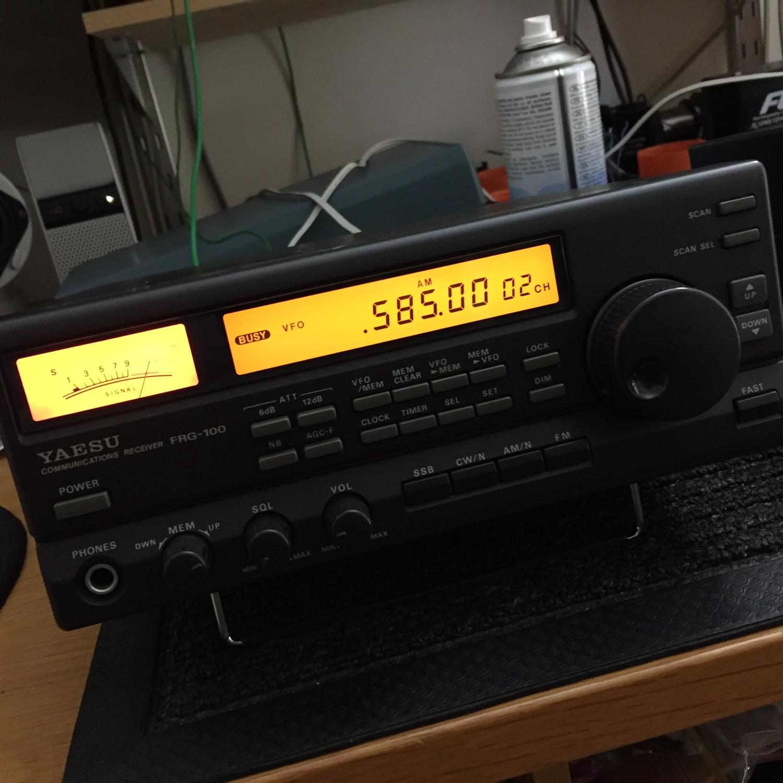 Yaesu FRG-100 Shortwave Receiver for Sale