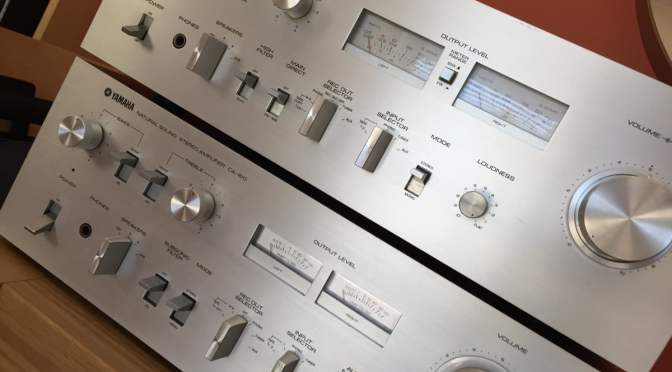 Yamaha CA-610 and CA-710 Integrated Amplifier Service & Repair