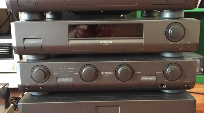 Amazing Kenwood L-1000 Hi-Fi System in for Service