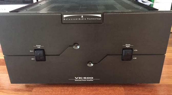BAT VK-500 MOSFET Monster Amplifier Repair