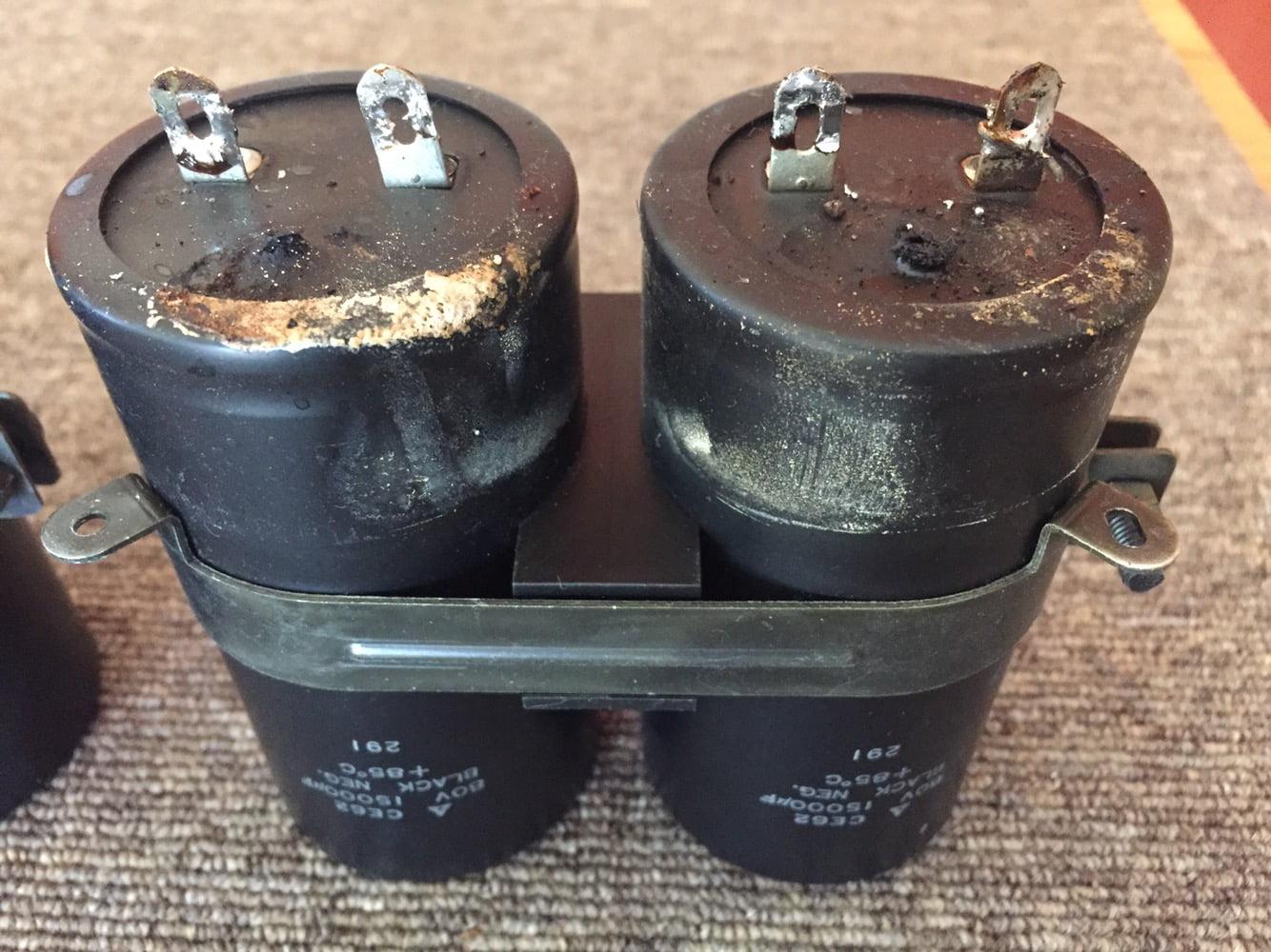 Dead Filter Capacitors, Marantz PM-8 Restoration