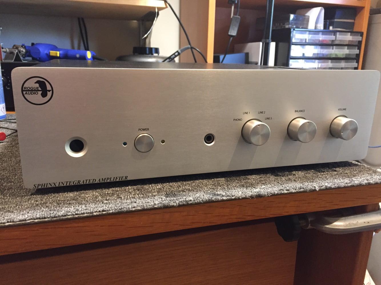 Rogue Audio Sphinx Integrated Amplifier Repair