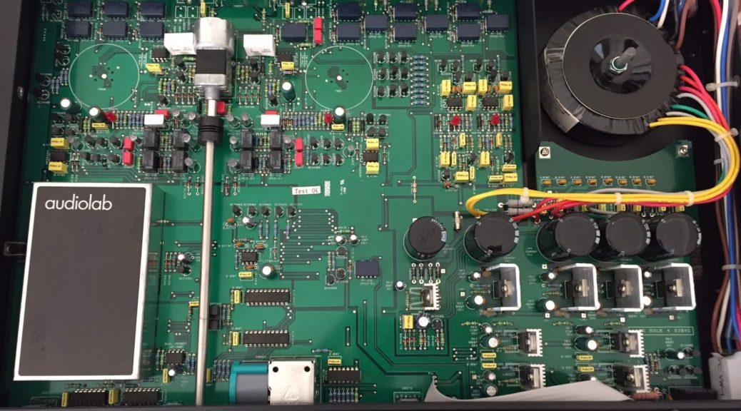 Audiolab 8000Q Preamplifier Repair