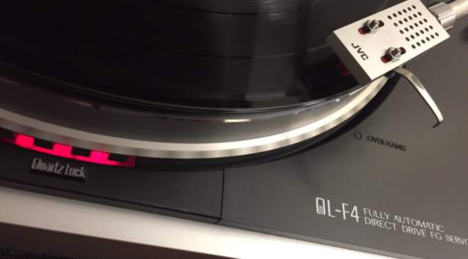 Another JVC QL-F4 Direct-Drive Turntable Repair
