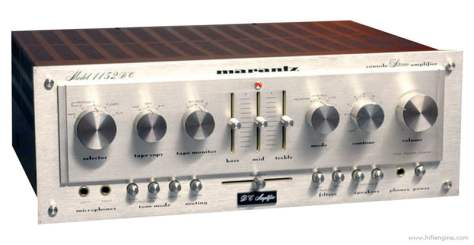 marantz_1152dc_front_panel Marantz 1152DC Integrated Amplifier Repair & Restoration