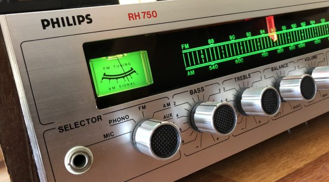 Gorgeous Philips RH 750 Receiver & Why We Love Hi-Fi!