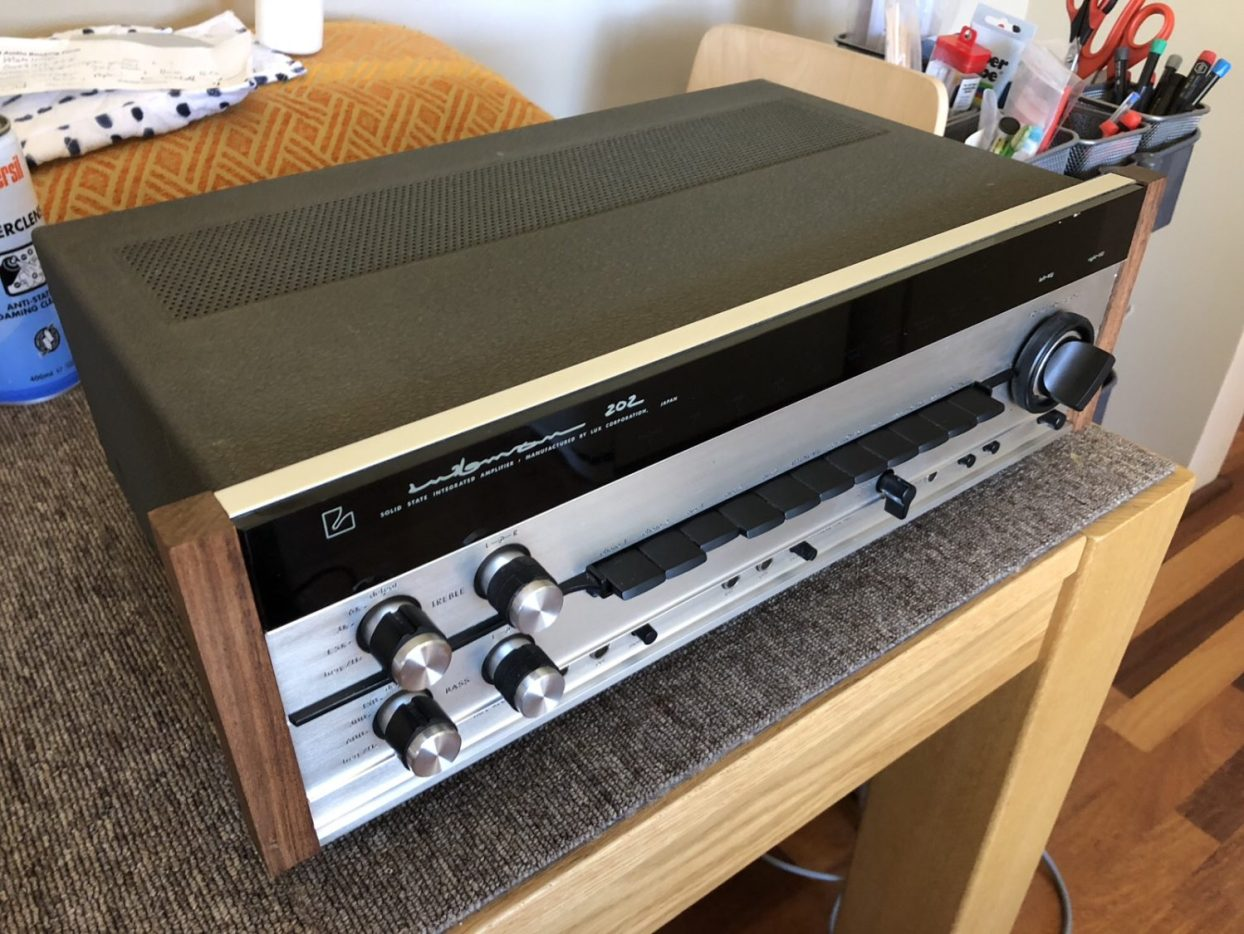 Luxman SQ-202 Integrated Amplifier Repair & Service