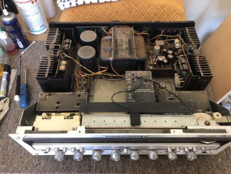 img_9177 Marantz 2330 Monster Receiver Restoration & Repair