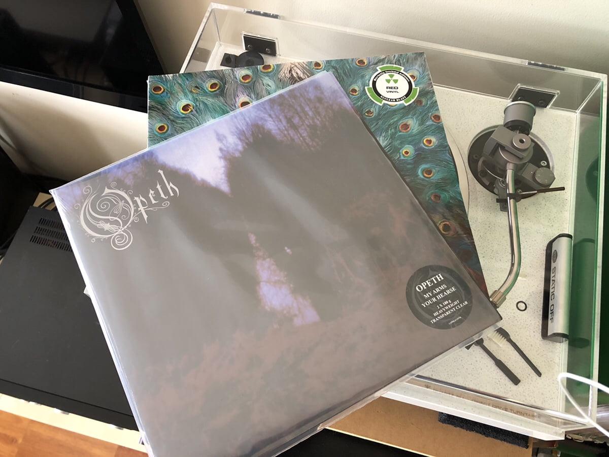 Vinyl Goodness – New Opeth 180 Gram Coloured Vinyl!