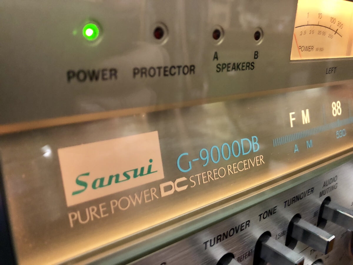Read more about the article Epic Sansui G-9000DB Monster Receiver Overhaul Video