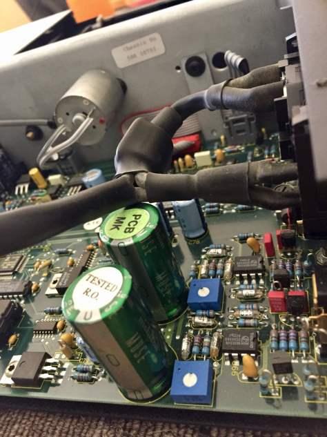 img_7099 Meridian 506.24 CD Player Service & Mystery Fault Repair