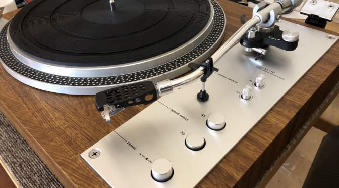 Denon SL-7D Direct Drive Turntable Service & Review